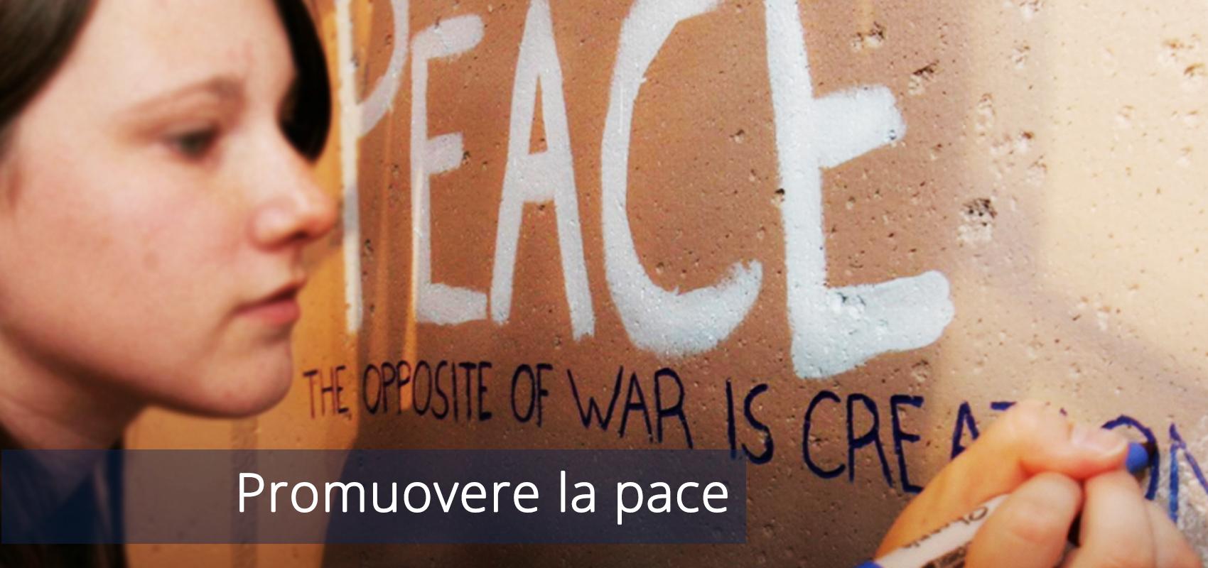 Promuovere la pace